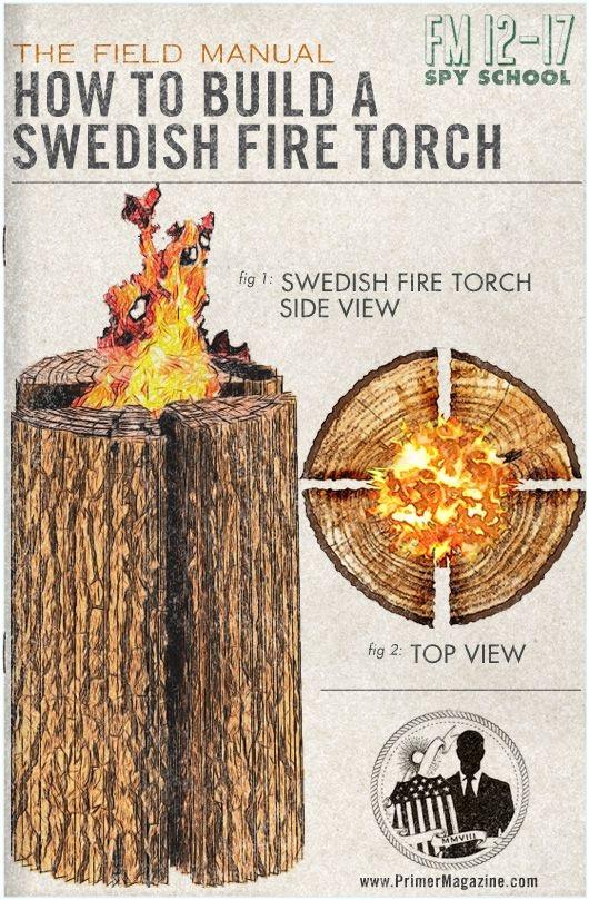 torche suédoise DIY