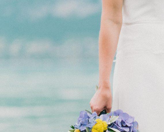 Mariage bleu et jaune, Liberty