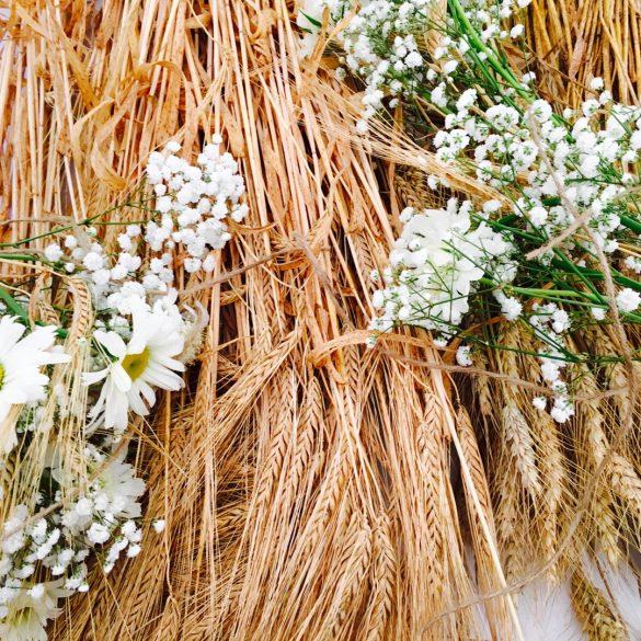 Mariage champêtre et plantes aromatiques